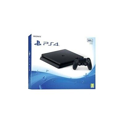 ⭐Sony Playstation 4 Slim 500Gb Nero Wi-Fi [41613]