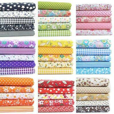 Mixed Cotton Fabric Material Bundle Scraps Offcuts Quilting Quilt Fabric @xin