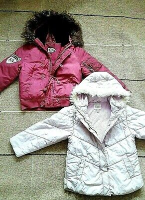 GIRL 8 yrs PUFFER DOWN HOODED JACKETS - Juicy Couture & NEXT