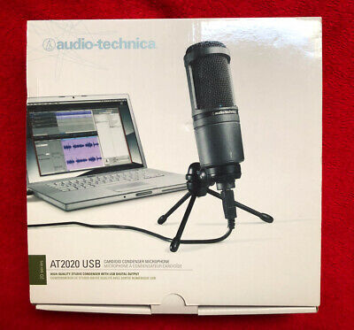 Audio-Technica AT2020USB Cardioid Condenser USB Microphone - Great Deal!