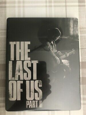 the Last Of Us Part 2 Steelbook NO GAME