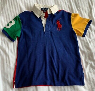 Kid's Ralph Lauren Polo Shirt - Multi-coloured - Small - Used