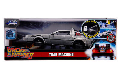 Jada Hollywood Rides: Back to the Future II Time Machine w/Light 1/24 Scale