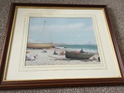 Beach Print Framed