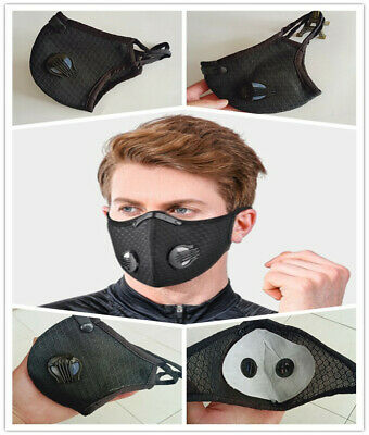 Cycling Protective Mouth-muffle Face Shield Haze Cover With Filter sports 1 pcs
