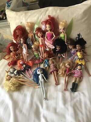 Bundle Of Mixed Dolls Some With Wings