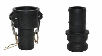 Camlock  LAY FLAT HOSE /hosepipe JOINER hose tails coupling (type C+E) ALL SIZES