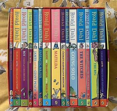Roald Dahl Phi's-Whizzing 15 Story Paperback Book Box Set Collection