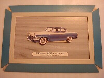 "1957 Studebaker ""Pop-Out"" Wall Display-Original!"