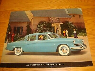 1953 Studebaker Large Showroom Poster Board - Original!!