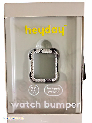 Heyday Apple Watch Bumper Snakeskin 38 mm New in Box