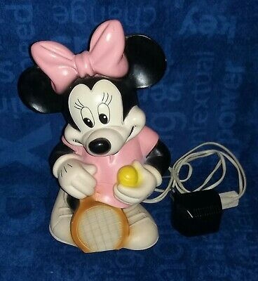 Minnie Mouse Figur, Heico Lampe Volle Funktion, Kunststoff, 35 Cm, Micky Maus