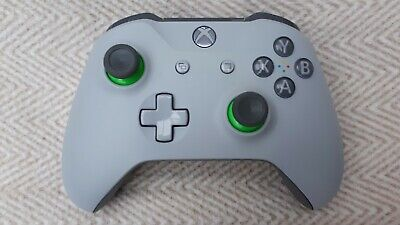Official Wireless Microsoft xbox one controller  - Grey / Green