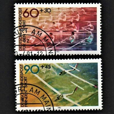 OLD STAMPS GERMANY 1981 cv£3.60 FULL SET SPORTS PROMOTION UNH USED NEVER HINGED