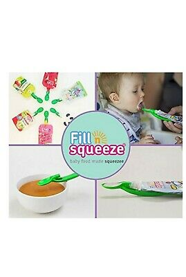 Fill n Squeeze Baby Spoon for Pouches FAST & FREE DELIVERY ORDER NOW
