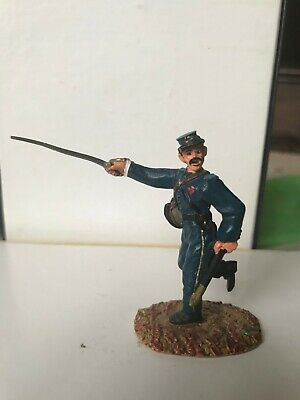 Conte Acw # 197  Union Infantry Officer Charging With Sword   No Box