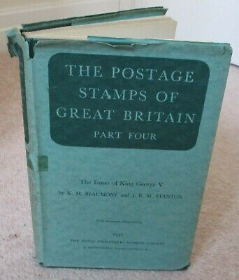 BOOK Postage Stamps of Great Britain Part 4 (issues of George V)