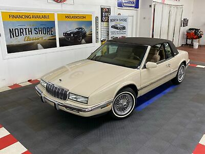 1992 Buick Riviera - LIKE NEW CONDITION - FULL SERVICE RECORDS - SUPE Buick Riviera Alabaster with 67,320 Miles, for sale!