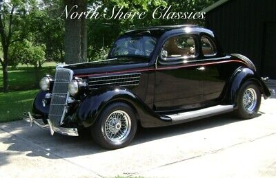 1935 Ford Hot Rod / Street Rod -5 WINDOW COUPE -RUMBLE SEAT - REDUCED PRICE! - Black Ford Hot Rod / Street Rod with 11,551 Miles available now!