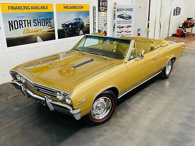 1967 Chevrolet Chevelle - SUPER SPORT - 138 VIN - NUMBERS MATCHING ENGINE 1967 Chevrolet Chevelle, Gold with 61,352 Miles available now!