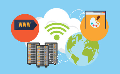 Unlimited websites cPanel Web Hosting 2 year.