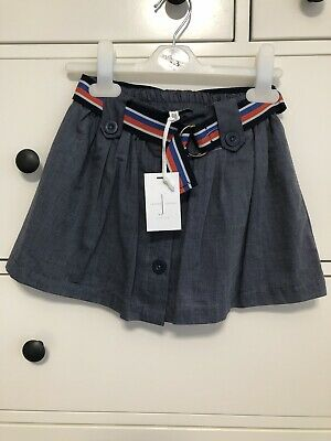 Jasper Conran Junior J Girls Skirt  With Belt. BNWT 2-3 Years