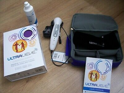 Ultralieve Ultrasound Hand Held Ultra sound Therapy Unit with new carry case