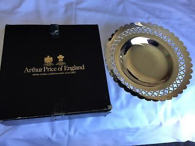 A Silver Plated Arthur Price Of England Footed Fruit Bowl