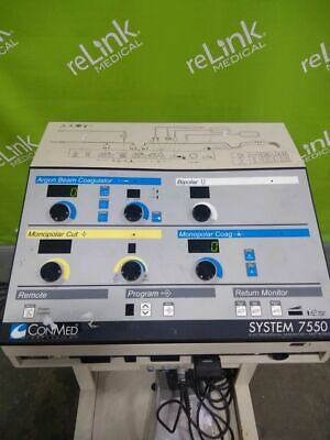 ConMed 7550 Electrosurgical Generator, ABC Modes