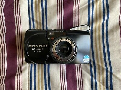 Olympus Infinity Stylus Zoom 115 35mm Point and Shoot Film Camera - Please Read