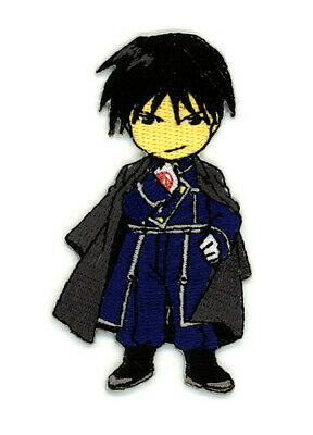 Fullmetal Alchemist Roy Mustang Sew On Patch Anime Licensed NEW