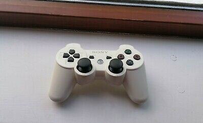 Official Genuine Sony Playstation 3 (PS3) DualShock 3 White Controller - TESTED