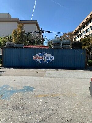 Ocean Freight Container 40' HC High Cube Storage Cargo Office Tiny Home House