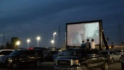 Inflatable Drive In Movie Screen