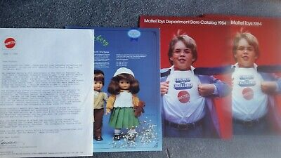 Vintage 1984 Mattel Toy Catalog- Hot Wheels - Barbie- Masters of the universe