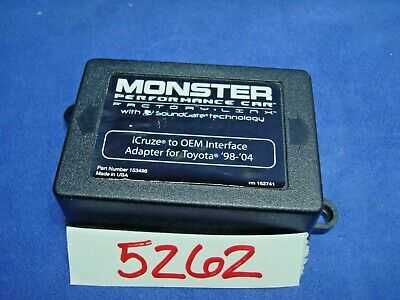 Monster153496 Performnce Carfactory Linx Icruze Oem Interface Adapt Toyota 98-04