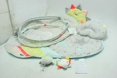 Skip Hop Silver Lining Cloud Baby Play Mat & Infant Activity Gym Celestial Theme
