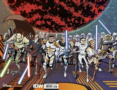 Star Wars Adventures Clone Wars #1 1:100 Variant Cover 1:10 Battle Tales Idw New