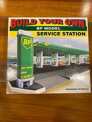 BUILD YOUR OWN BP MODEL SERVICE GAS STATION  1995 Edition