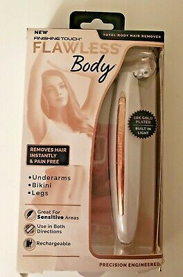 Finishing Touch Flawless Total Body Hair Remover  Rechargeable