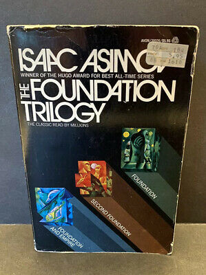 Vintage Isaac Asimov Foundation Trilogy - Trade Paperback, Empire, Second