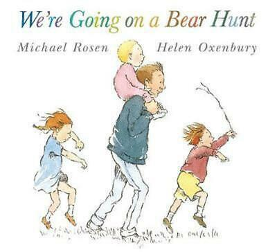 We're Going on a Bear Hunt by Michael Rosen (English) Paperback Book Free Shippi