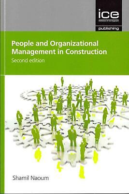 People and Organizational Management in Construction by Shamil Naoum (English) P