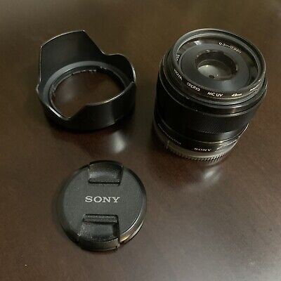 Sony SEL35F18 35mm F/1.8 OSS Lens Good Condition