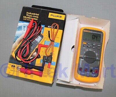 Fluke 87V Industrial Electrician True RMS with Extra Accessories