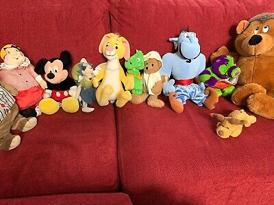 Lot of Teddy Bears, Soft toys & Disney Branded soft toys - Superb condition