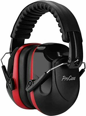 ProCase Ear Protection Safety Ear Muffs Fits Adults to Kids, NRR 26dB Noise Redu