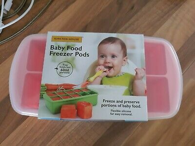 Baby Food Freezer Pods Pink