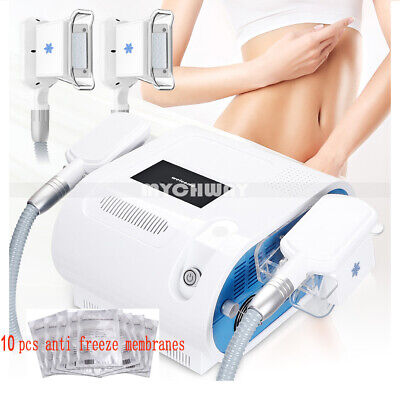 Double Cooling Fat Freeze Cold Vacuum Removal Body Shape Slimming Beauty Machine