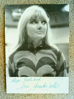 Dr Who hand signed ANNEKE WILLS photo. Dedicated to Richard